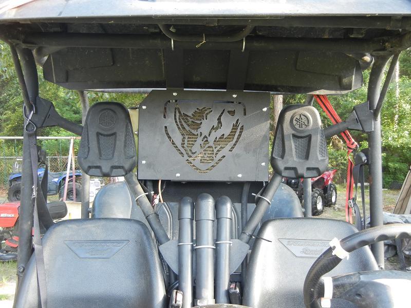Wild Boar Radiator Relocation Kit For The Rhino 700 187 Atv
