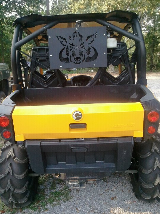 CAN-AM COMMANDER RADIATOR RELOCATION $210.00 FREE SHIPPING ...