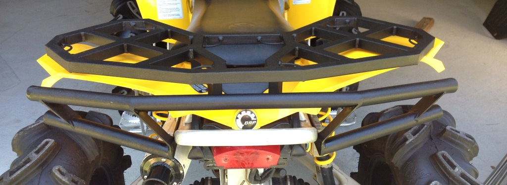nfg can am renegade 500 800 06 11 rear bumper $155 00 atv parts, atv 2008 can am renegade 800 wiring diagram at bakdesigns.co