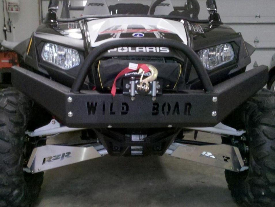 Polaris RZR 800 Front Bumper And Winch Combo $499 00 » ATV Parts